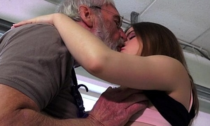 Orgasmic party girl is ass slapped added to fucked by her ancient shush