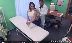 Lord it over patient pulls out doctors dick in order dispensary