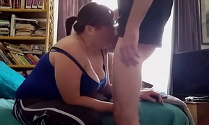 JAPANESE BBW AMATUER DEEPTHROATS A FAT Ashen COCK